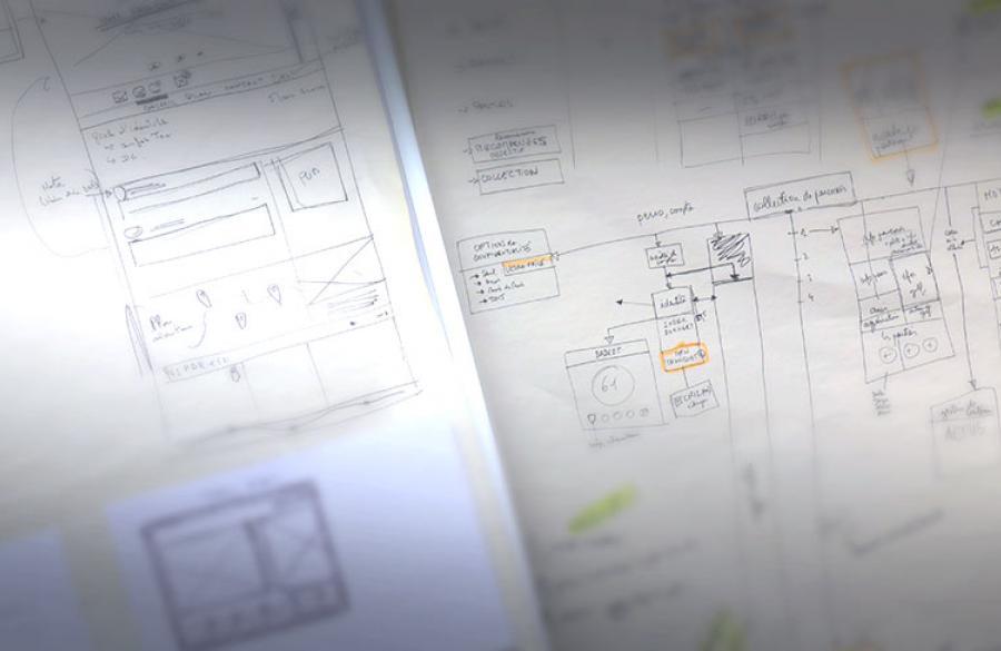 Schéma de fonctionnement du site