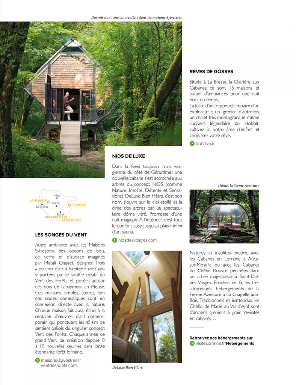 Page du magazine