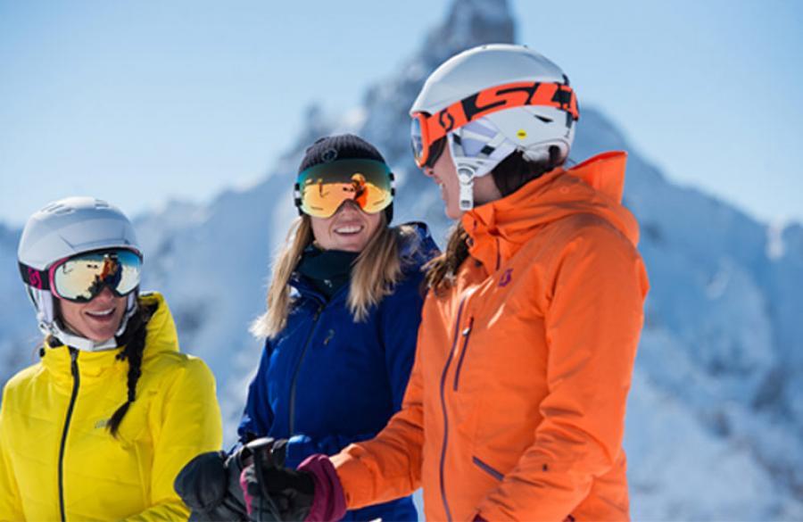 Image de skieurs