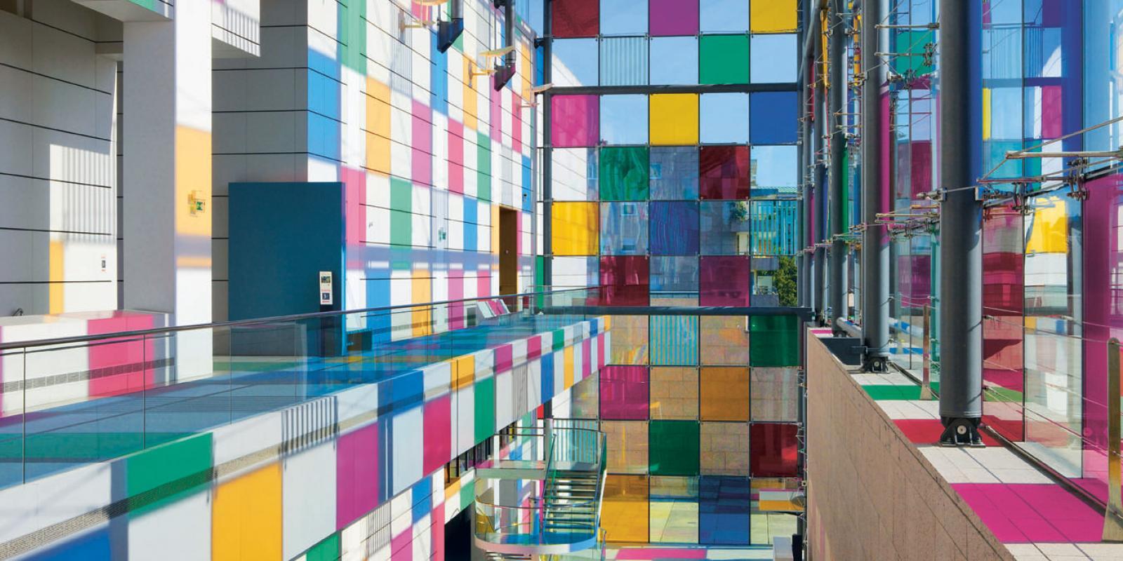 Photo musée d'art moderne et contemporain Strasbourg